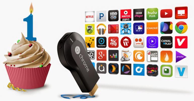 Chromecast, One Year Later
