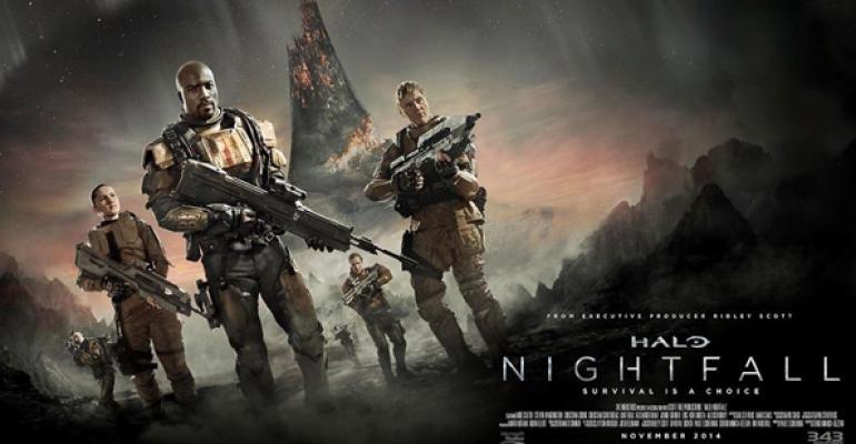 "First Peek at ""Halo: Nightfall"""