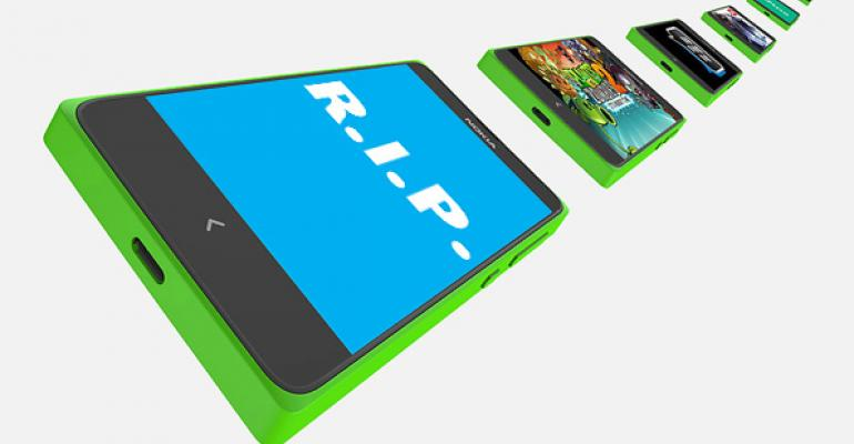 Nokia X'd: Microsoft Goes All In on Windows Phone