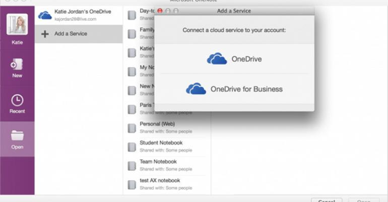 OneNote Updated for iOS, Mac