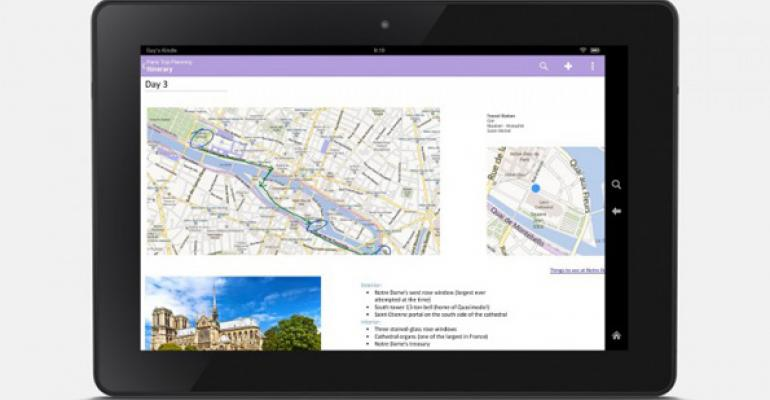 OneNote Expands to Amazon Fire Phone and Kindle Fire Tablets