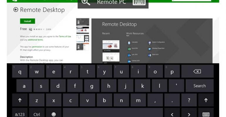Windows Phone 8.1 Gets a Microsoft Remote Desktop Update