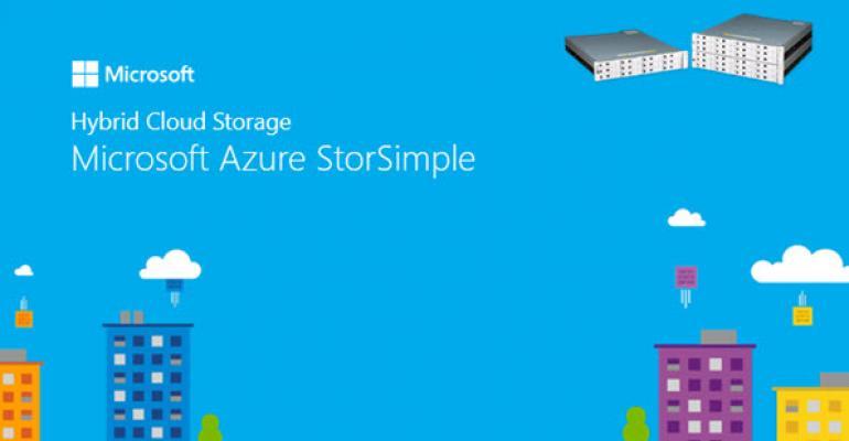StorSimple Renamed to Azure StorSimple, Gets Big Refresh in August