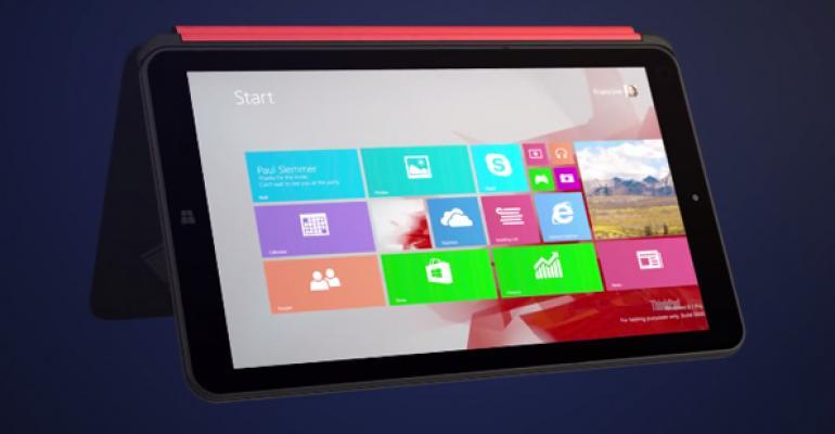 Lenovo's Weird Windows Mini-Tablet Flip-flop