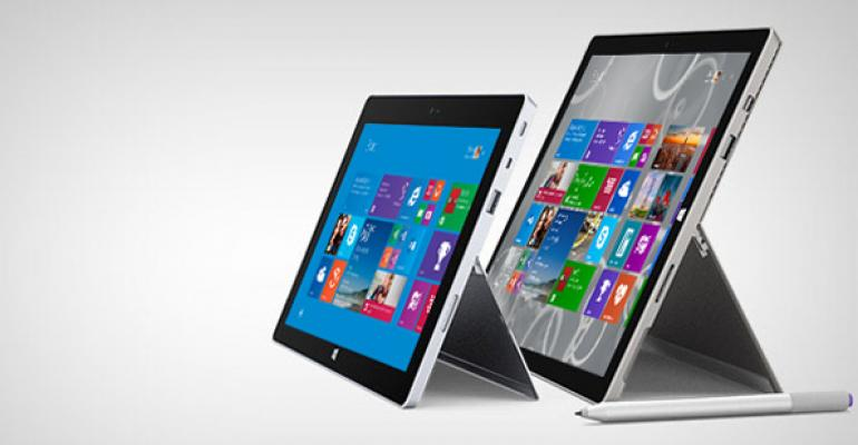 Microsoft Surface Firmware Updates for August 2014