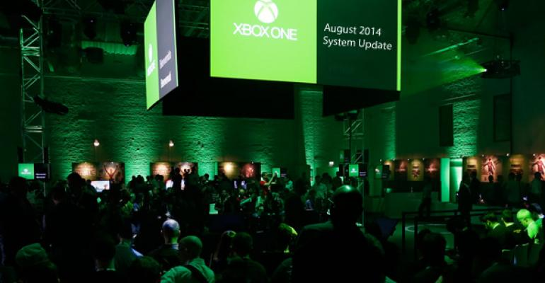 August 2014 is Biggest Month Yet for Xbox One Updates