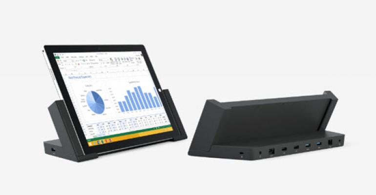 Surface Pro 3 Docking Station Now Available Everywhere in the U.S. and Canada