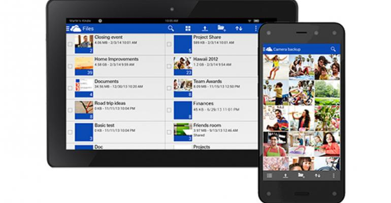 Microsoft Brings OneDrive to Amazon Fire OS Devices