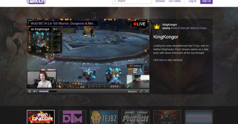 Amazon to Buy Twitch for Over $1 Billion