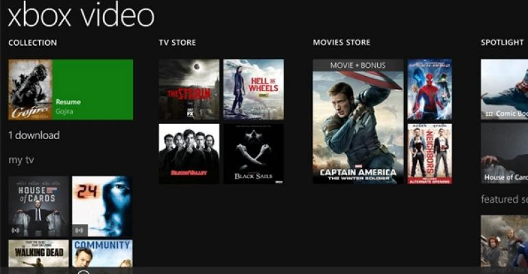 Xbox Video for Windows Phone 8/8.1 Updated