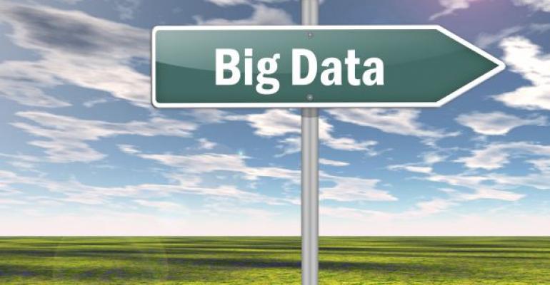 Big Data roadsign
