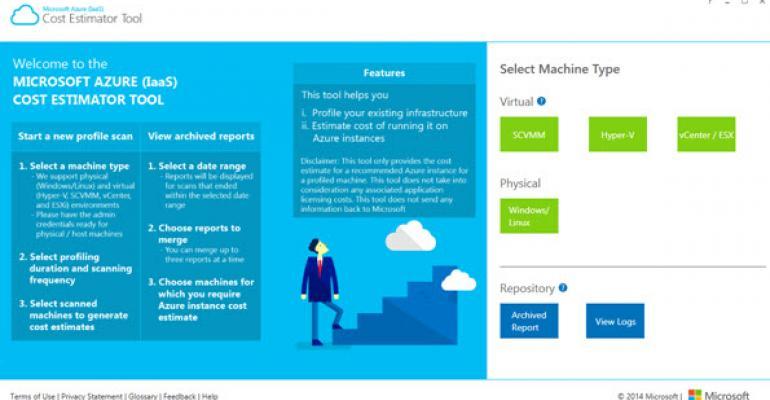 Microsoft Azure (IaaS) Cost Estimator Tool Exits Beta