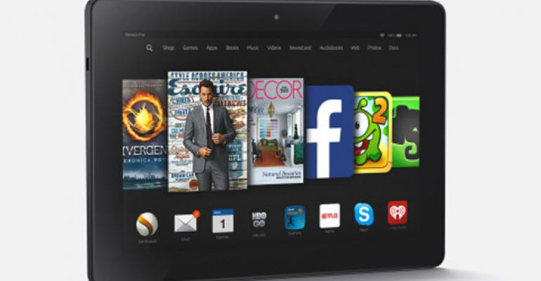 Amazon Launches New Kindle E-Readers, Tablets