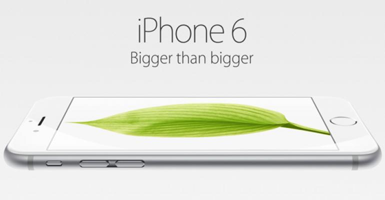 Apple Reports Record Pre-Orders for iPhone 6