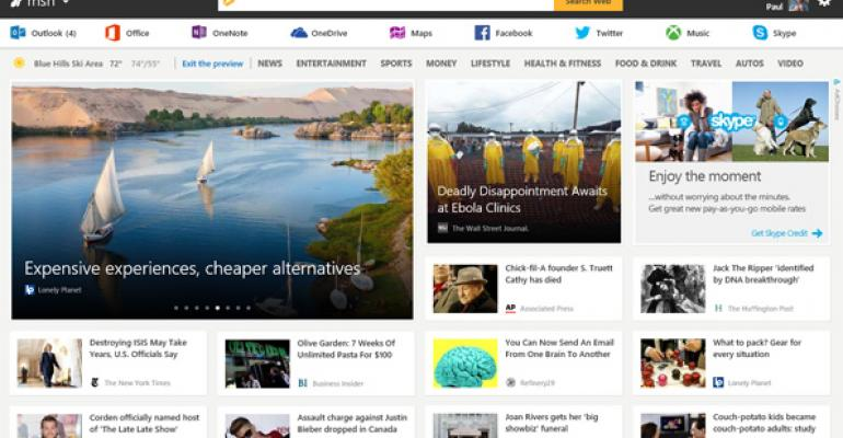 MSN Relaunch: Microsoft's Content Brand Enters the Mobile First, Cloud First Era