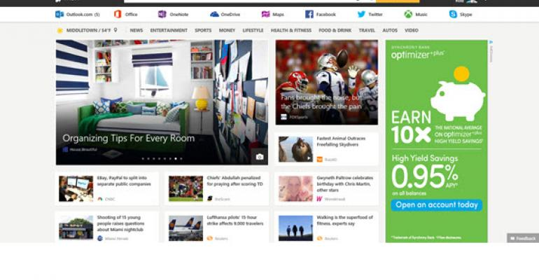 Bing Apps No More, MSN Takes Over