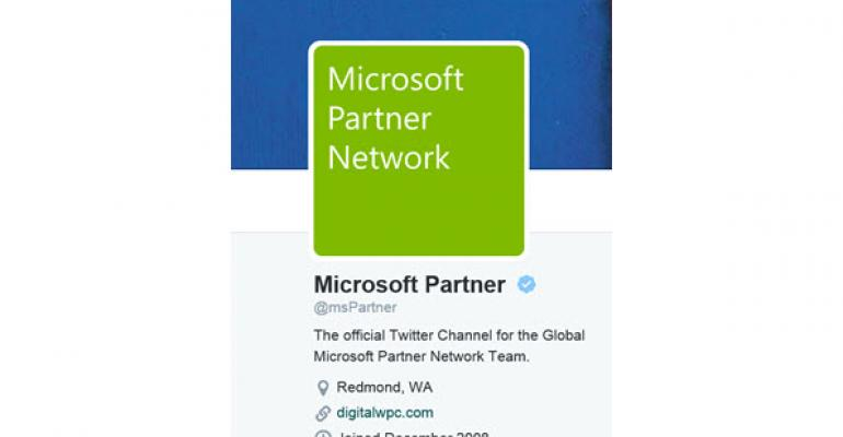 Microsoft Consolidating Its Partner Twitter Accounts