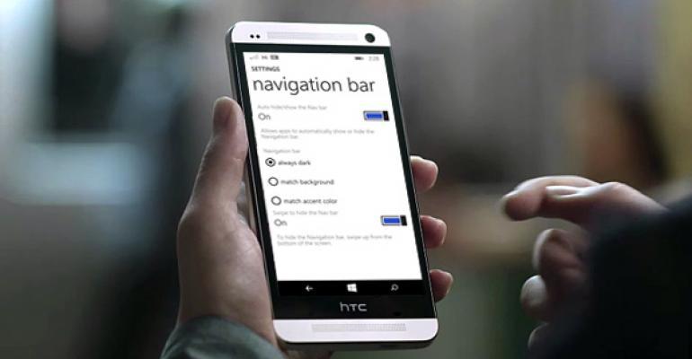 Windows Phone 8.1 Tip: Manage the Navigation Bar, Part 2