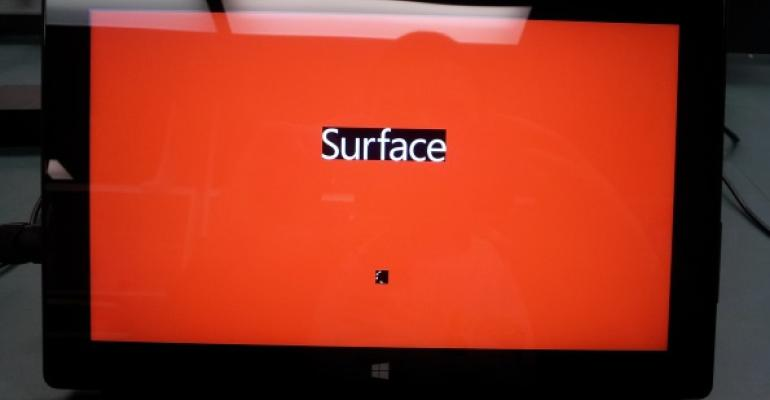 Surface Pro 3 red screen