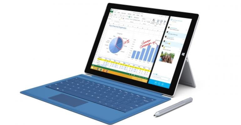 Surface Pro 3 with keyboard