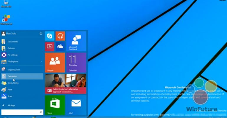 Windows 9 Technical Preview Video Leaks: An Analysis