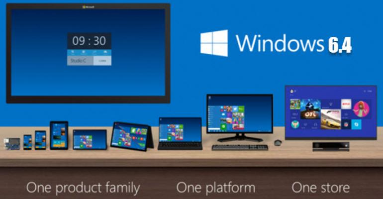 Windows 10's Inventoried Version Number