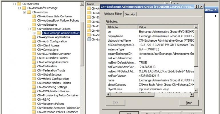 Active Directory and Exchange - too tight for a rename
