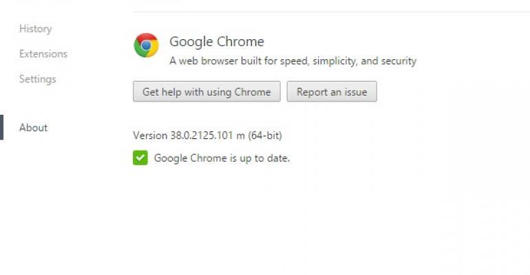 Google Chrome and Office Servers - the continuing saga