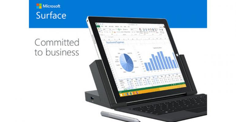 Microsoft is Committed to the Surface Pro 3, Offers New Business Bundle