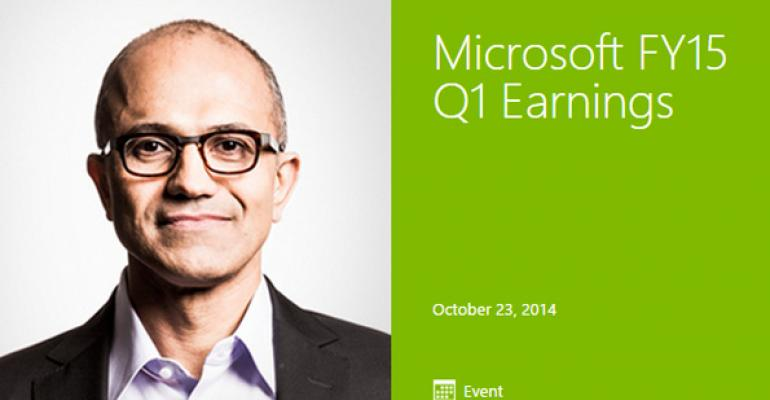 Short Takes: Microsoft Earnings Special Edition