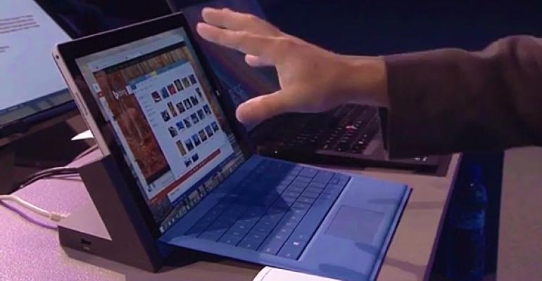 Microsoft Details Windows 10 TrackPad Gestures