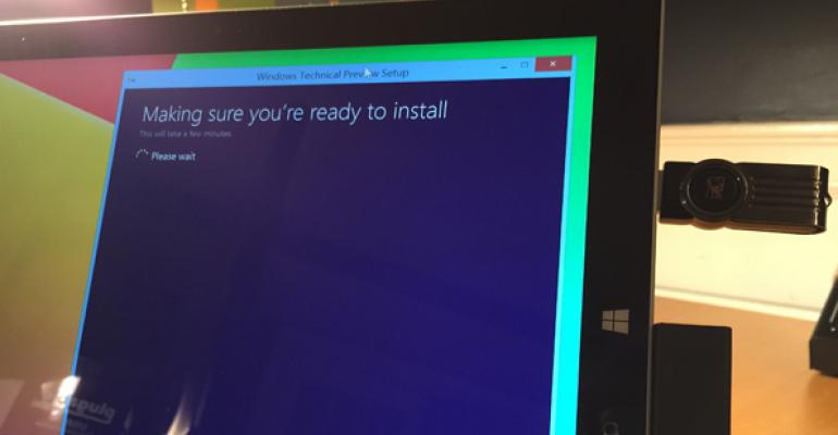 Getting Started with the Windows Technical Preview