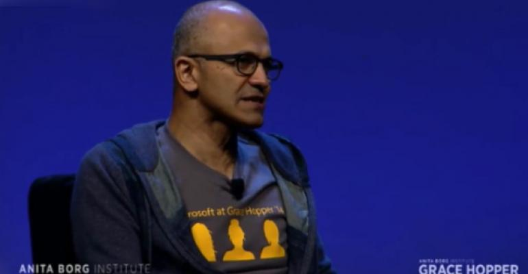 Microsoft Navigates Nadella's First Major Flub