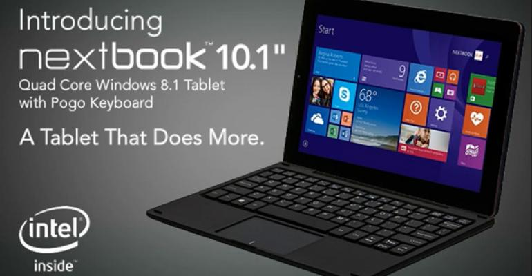E FUN Nextbook Preview: A Sub-$200 2-in-1