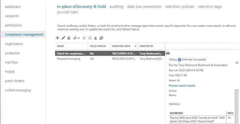 Exchange Online increases eDiscovery mailbox limit and boasts better performance too