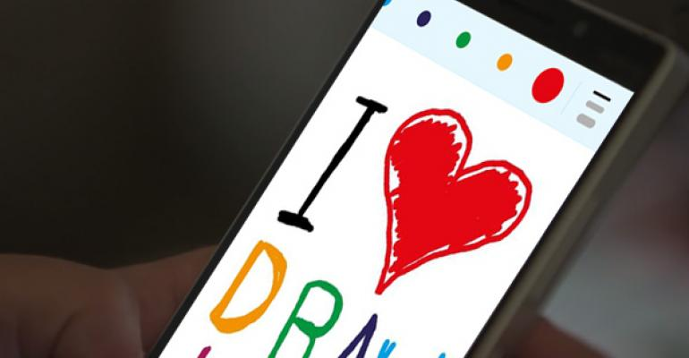 Skype for Windows Phone Adds Support for Drawing