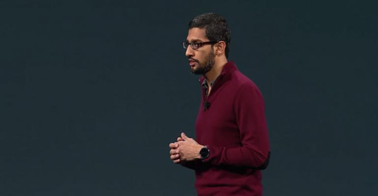 Sundar Pichai Takes Over All of Google's Core Products