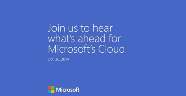Microsoft to Detail Its Cloud Progress on October 20 and You Are All Invited