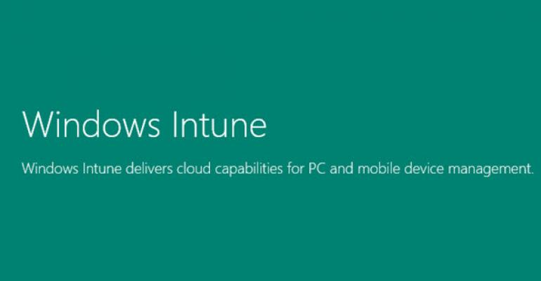 Windows Intune Gets Its Own Microsoft Blog