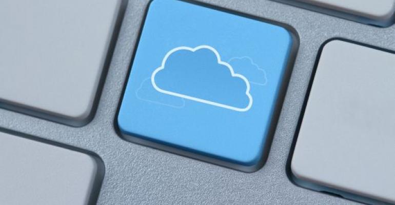 cloud on keyboard