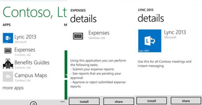 Microsoft Updates Intune Company Portal App for Windows Phone 8.1