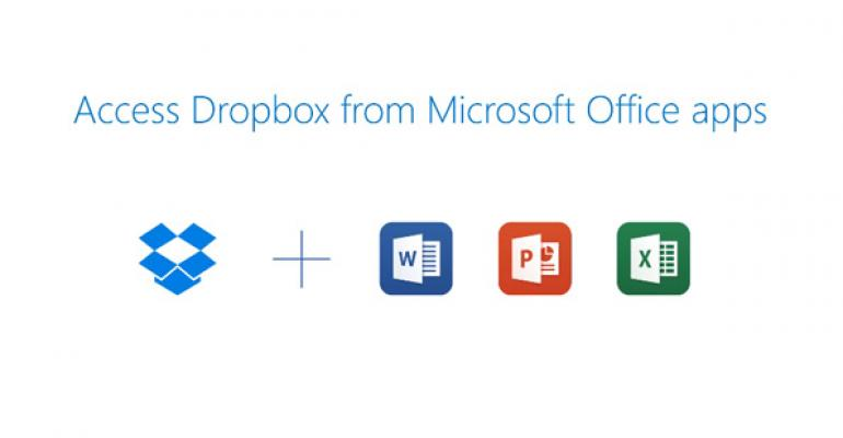 Dropbox Adds Microsoft Office Support to its Android, iOS Apps