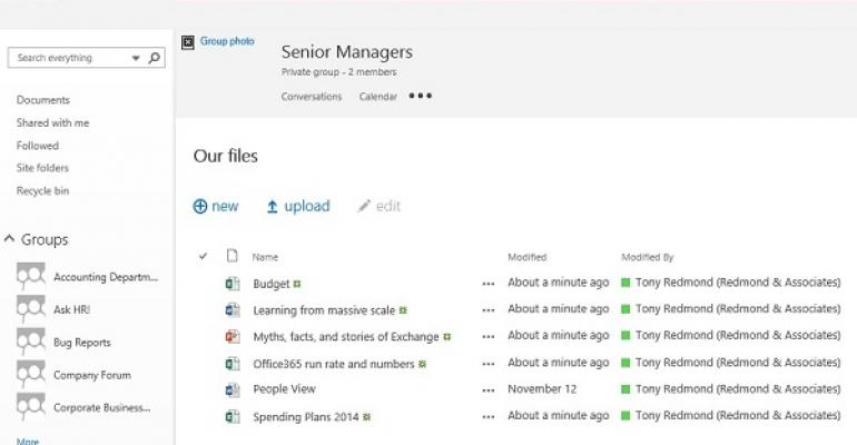 Office 365 Groups problem exposes the seamy side of evergreen software