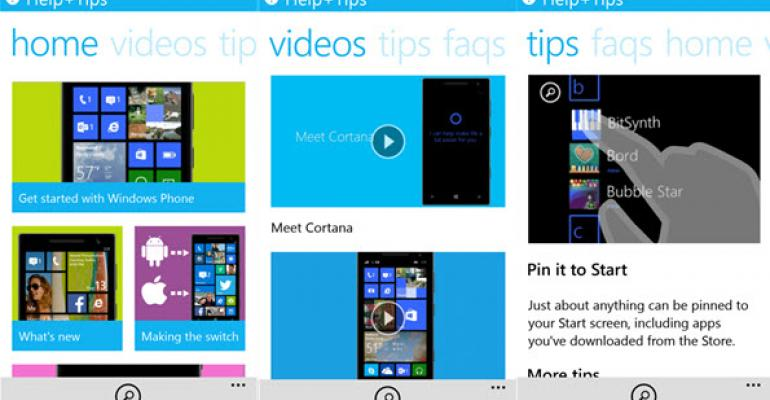 Cortana Becomes Even More Helpful with Windows Phone Help Integration