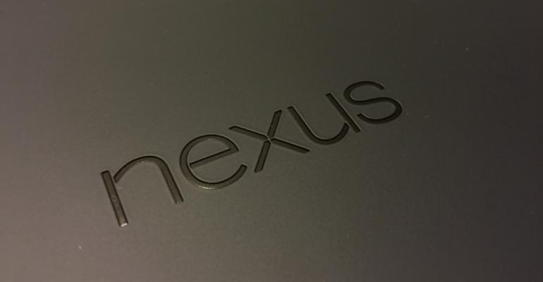 Google Nexus 9 First Impressions