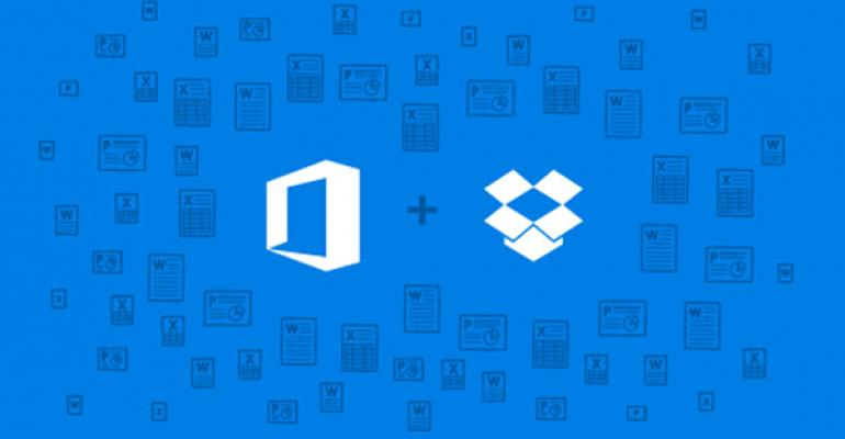 Microsoft Partners with Dropbox on Office Across Devices