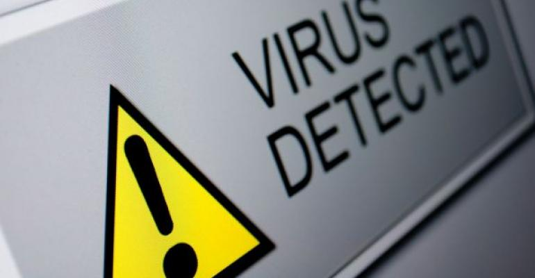 virus detected warning