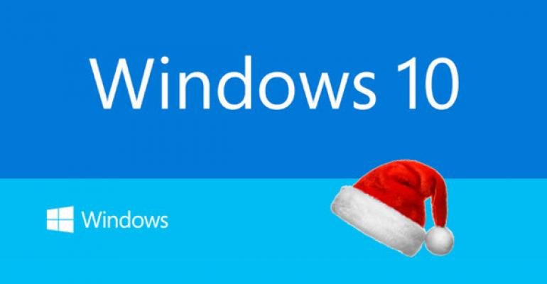 Don't Expect Any New Windows 10 Builds for Christmas