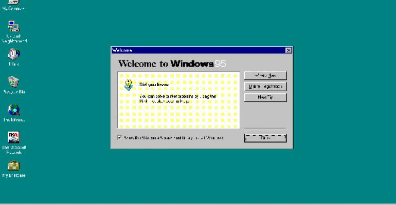 Microsoft Fixes Bug That Dates Back to Windows 95