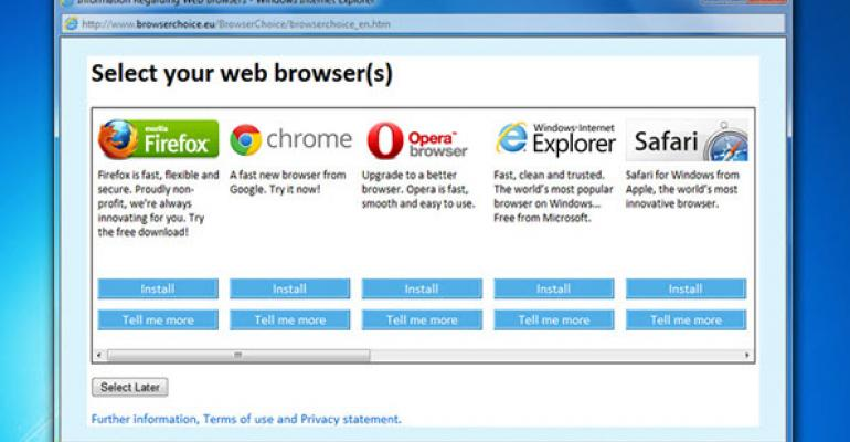 Browser Choice Ruling Against Microsoft Expires